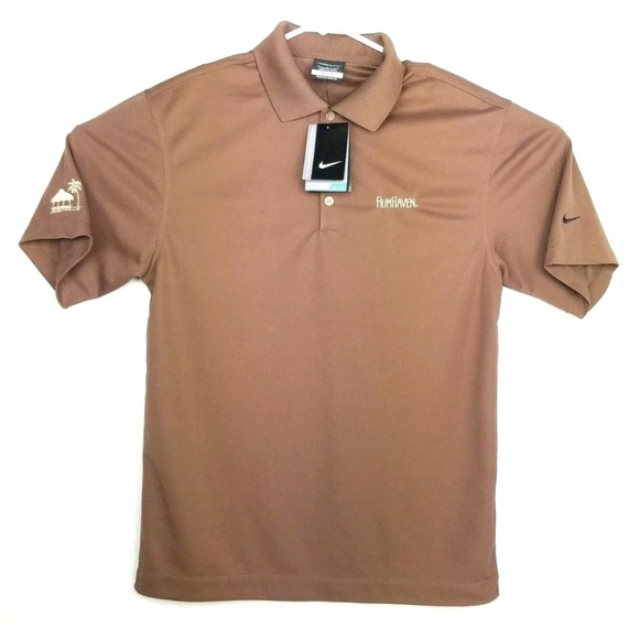 Nike Shirts Golf Mens Polo Shirt Embroidered Size Small Poshmark